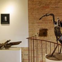 San Gimignano - isculpture - Toscana - Tuscany - Sculpture
