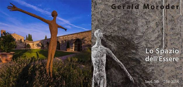 Lo Spazio dell'Essere. Solo Exhibition of Gerald Moroder at iSculpture Gallery San Gimignano